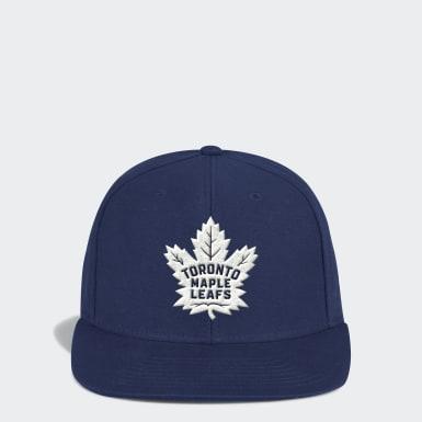 Men Hockey Multicolor Maple Leafs Flat-Brim Snapback Cap
