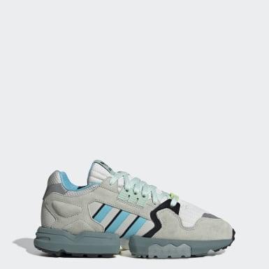 Sapatos ZX Torsion Cinzento Mulher Originals