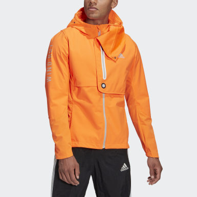 Männer Running WIND.RDY Jacke Orange