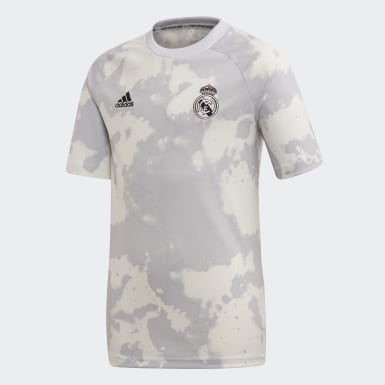 Camiseta calentamiento Real Madrid