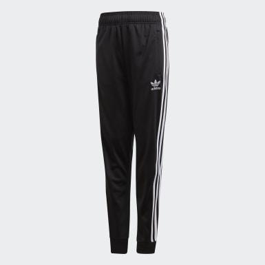 Pants deportivos SST Negro Niño Originals