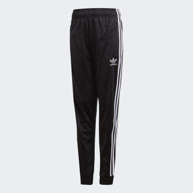 Kids Originals Black SST Track Pants