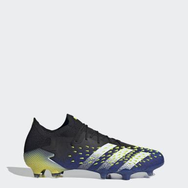 Men Soccer Black Predator Freak.1 Firm Ground Cleats