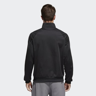 Men Training Black Essentials Track Top