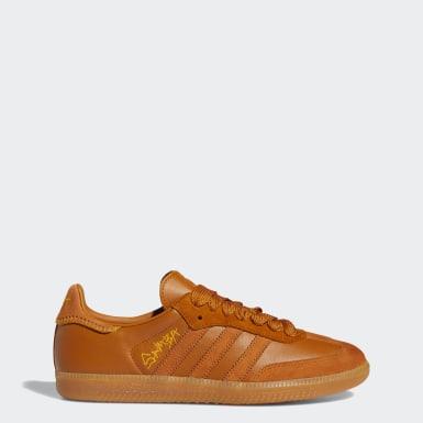 Sapatos Samba Jonah Hill Castanho Originals