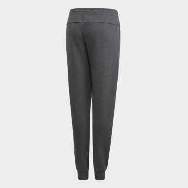 Youth 8-16 Years Training Grey Linear Joggers