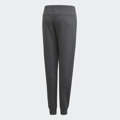 Girls Träning Grå Linear Pants