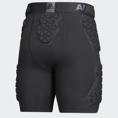 Men's Training Black Alphaskin Force 5 Pad Girdle