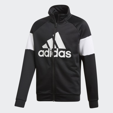 Youth Training Black Badge of Sport Track Suit
