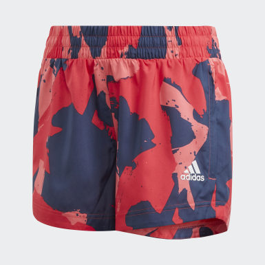 Youth 8-16 Years Training Grey Woven Shorts