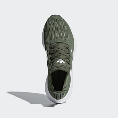Dames Originals groen Swift Run Schoenen
