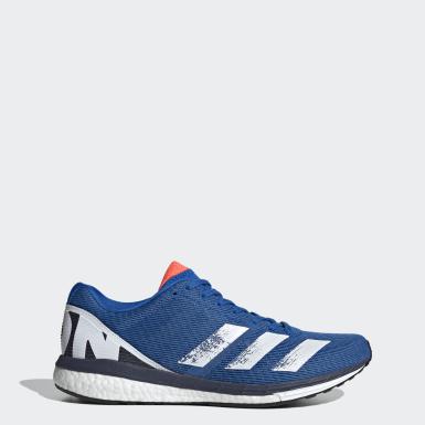 Männer Running Adizero Boston 8 Schuh Blau