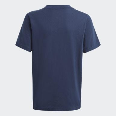 Børn Originals Blå Graphic Logo Print T-shirt