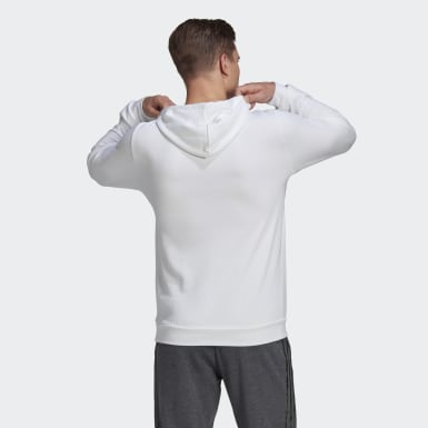 Sweat-shirt à capuche Essentials Camouflage Blanc Hommes Athletics