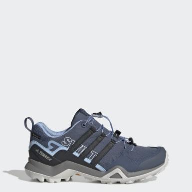 Zapatillas Terrex Swift R2 GTX Azul Mujer adidas TERREX
