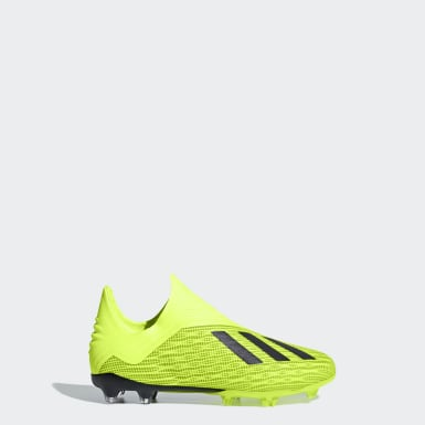 รองเท้าฟุตบอล X 18+ Firm Ground