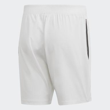 Shorts Escouade 7 Pulgadas Blanco Hombre Tennis
