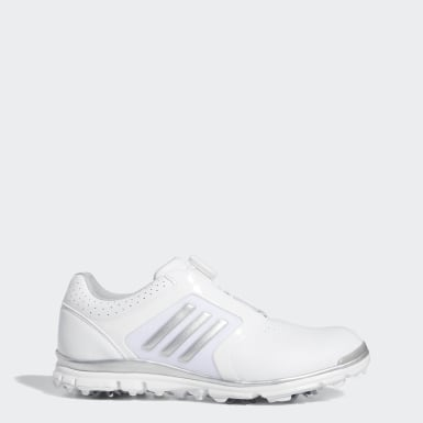 Women Golf White Adistar Tour Boa Shoes