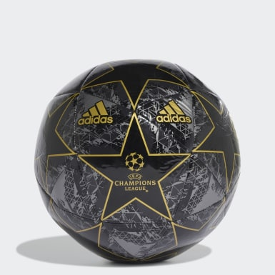 Men's Soccer Black UCL Finale 19 Capitano Ball