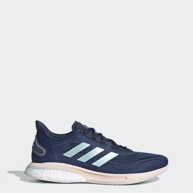 Zapatillas Supernova Azul Mujer Running