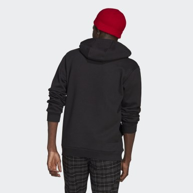 Hoodie Trefoil London Nero Originals