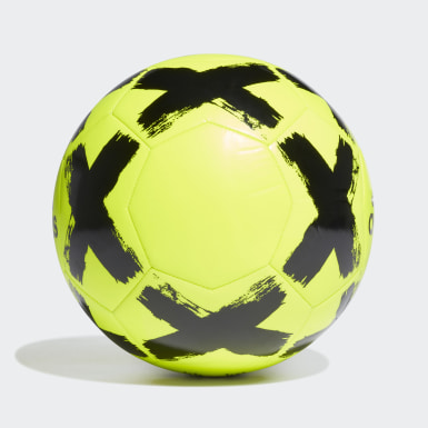 Men Football Yellow Starlancer Club Ball