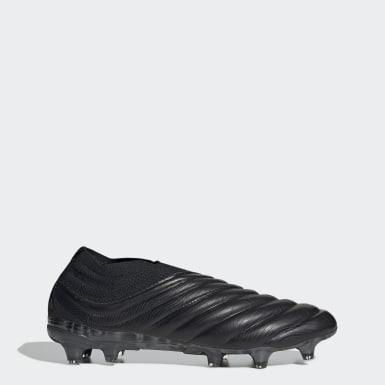 Heren Voetbal zwart Copa 20+ Firm Ground Voetbalschoenen