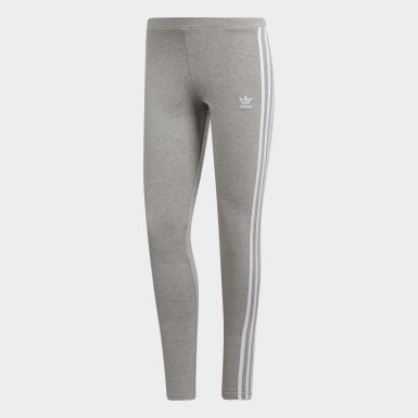 Women Originals Grey 3-Stripes Tights