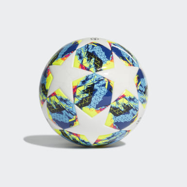 Men's Soccer White Finale Mini Ball