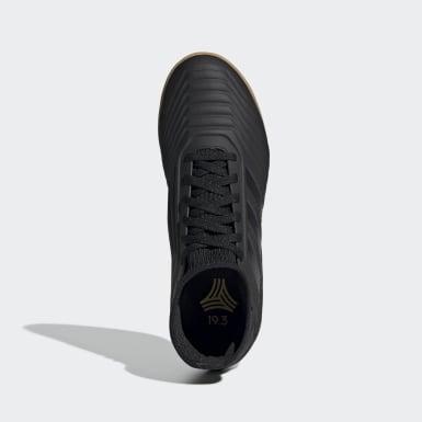 Calzado de Fútbol Predator Tango 19.3 Bajo Techo (UNISEX) Negro Niño Fútbol