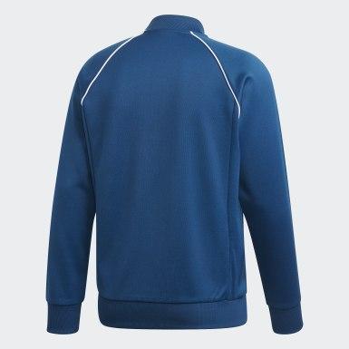 Track jacket SST Blu Uomo Originals