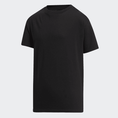 Youth Training Black Amplifier Tee