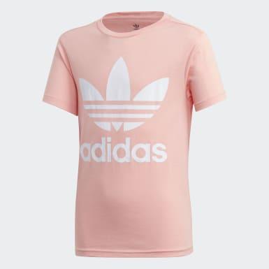 Camiseta Trifolio Rosa Niño Originals