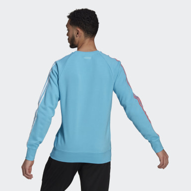 Men Football Turquoise Real Madrid Sweatshirt