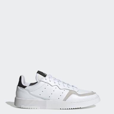 Männer Originals Supercourt Schuh Weiß