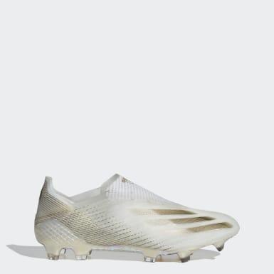 Boas de Futebol X Ghosted+ – Piso firme Branco Futebol
