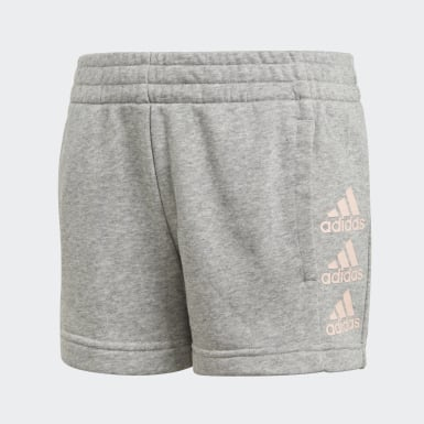 Youth 8-16 Years Training Grey Must Haves Shorts