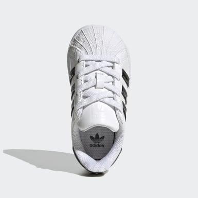 Scarpe Superstar Bianco Bambini Originals