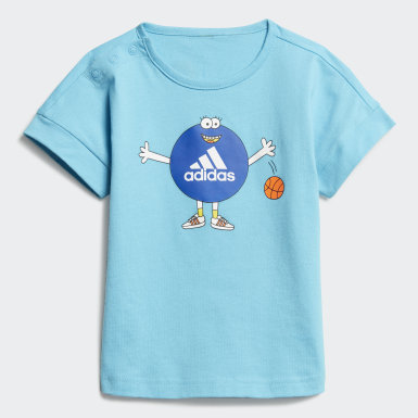 Conjunto Cleofus Summer (UNISEX) Azul Kids Training