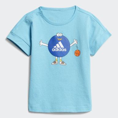 Conjunto Cleofus Summer (UNISSEX) Azul Kids Training
