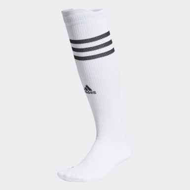 Running White Alphaskin Compression Over-The-Calf Socks