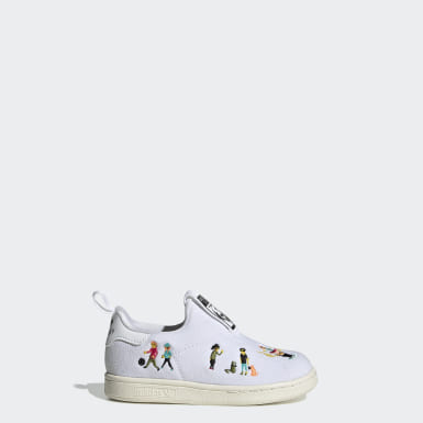Tenis Stan Smith 360 Blanco Niño Originals