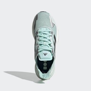 ผู้หญิง วิ่ง สีเขียว รองเท้า X9000L3