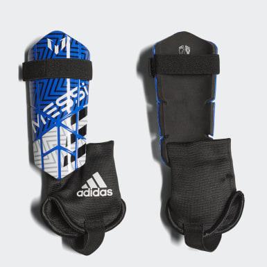 Espinilleras Messi 10 Azul Niño Fútbol