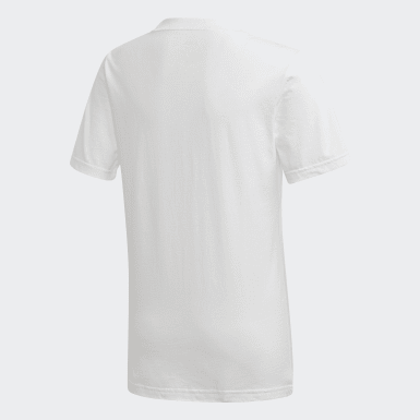 Boys Training White Tasto T-Shirt