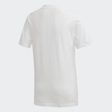 Kluci Trénink bílá Tričko Tasto
