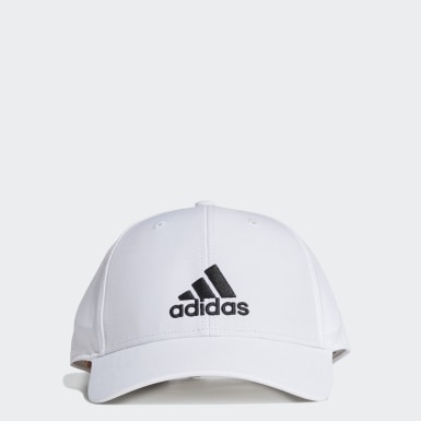 Training White Lightweight Embroidered Baseball Cap