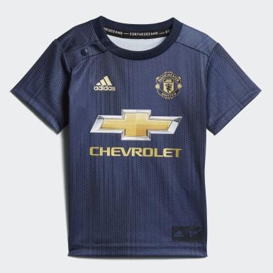 синий Комплект: футболка и шорты Манчестер Юнайтед