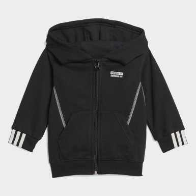 Infant & Toddler Originals Black R.Y.V. Full-Zip Hoodie Set