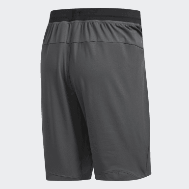 Men's Running Grey 4KRFT Sport Ultimate 9-Inch Knit Shorts